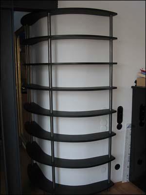 rundes regal good groes rundes drehbares altes aktenregal with rundes regal regal display with. Black Bedroom Furniture Sets. Home Design Ideas